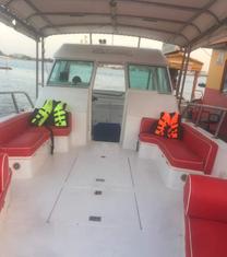 » رحلة بحرية صيد سباحة سنوركل قارب نزهة بحر مفتوح