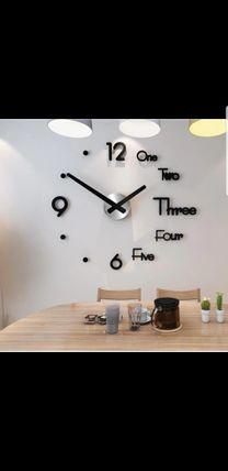 ساعات حائطية 3D ضمان سنة
