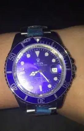 ساعة رولكس سمورف صبمارينر 13