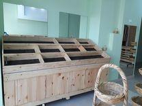 ستندات خشب للخضار و الفاكهة