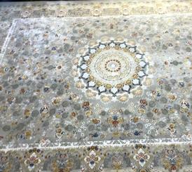 سجاد إيراني قم مصنوع من الياف الحرير