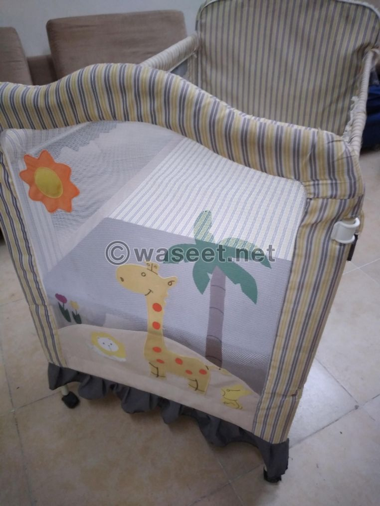 Iron baby bed for sale 0