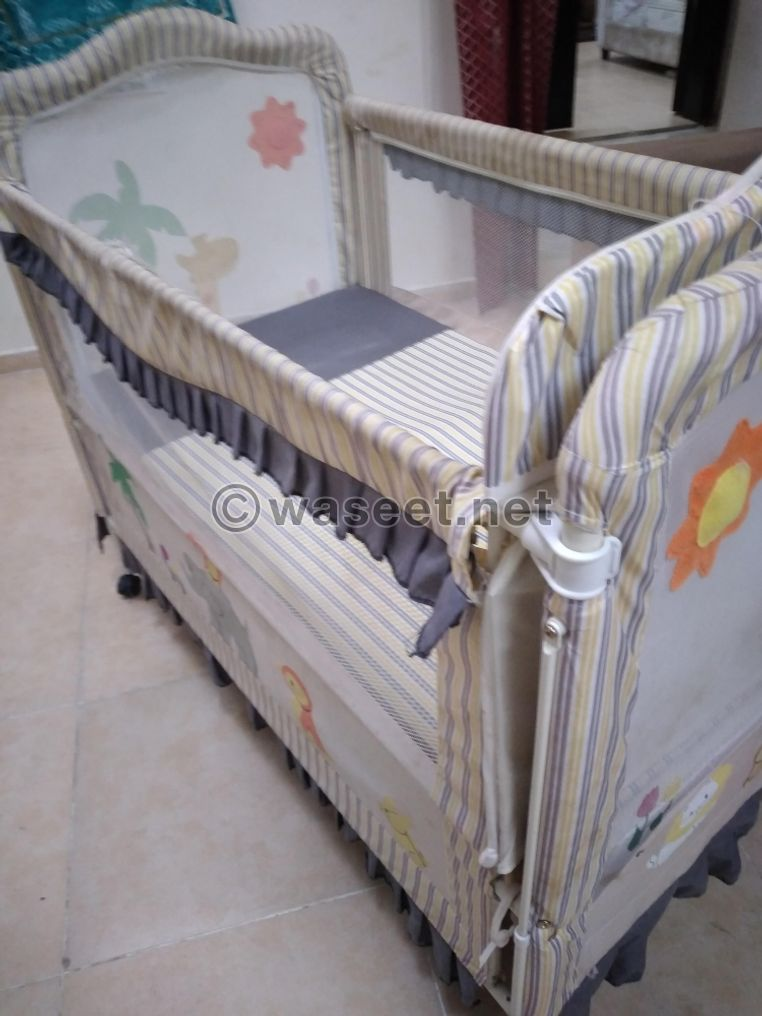 Iron baby bed for sale 1