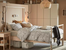 سرير مستعمل شبه جديد