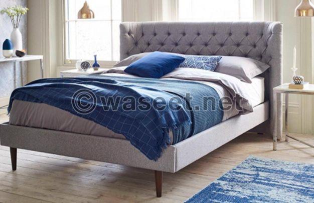 سرير مع فرشه للبيع