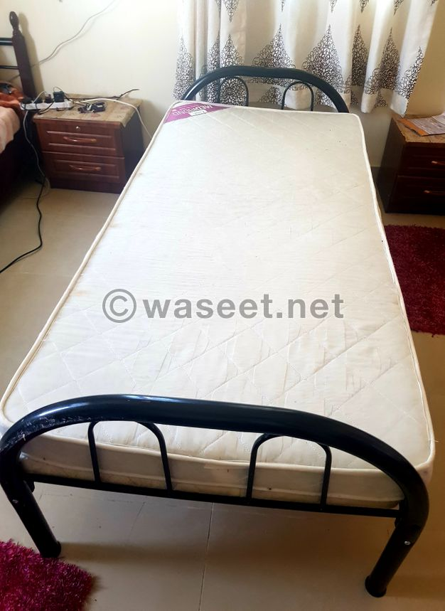 Bed with Mattresses for Sale