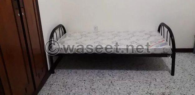 سرير مفرد جديد استعمال بسيط للبيع