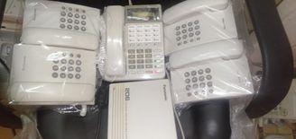 سنترال باناسونيك يابانى و ٢ عدة تليفون...