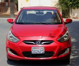 سياره اكسنت 2012 للبيع