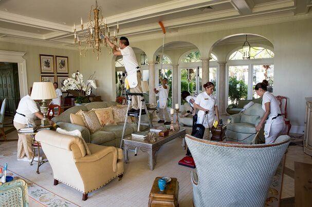 شركة تنظيف فلل ومنازل وحلي ارضيات