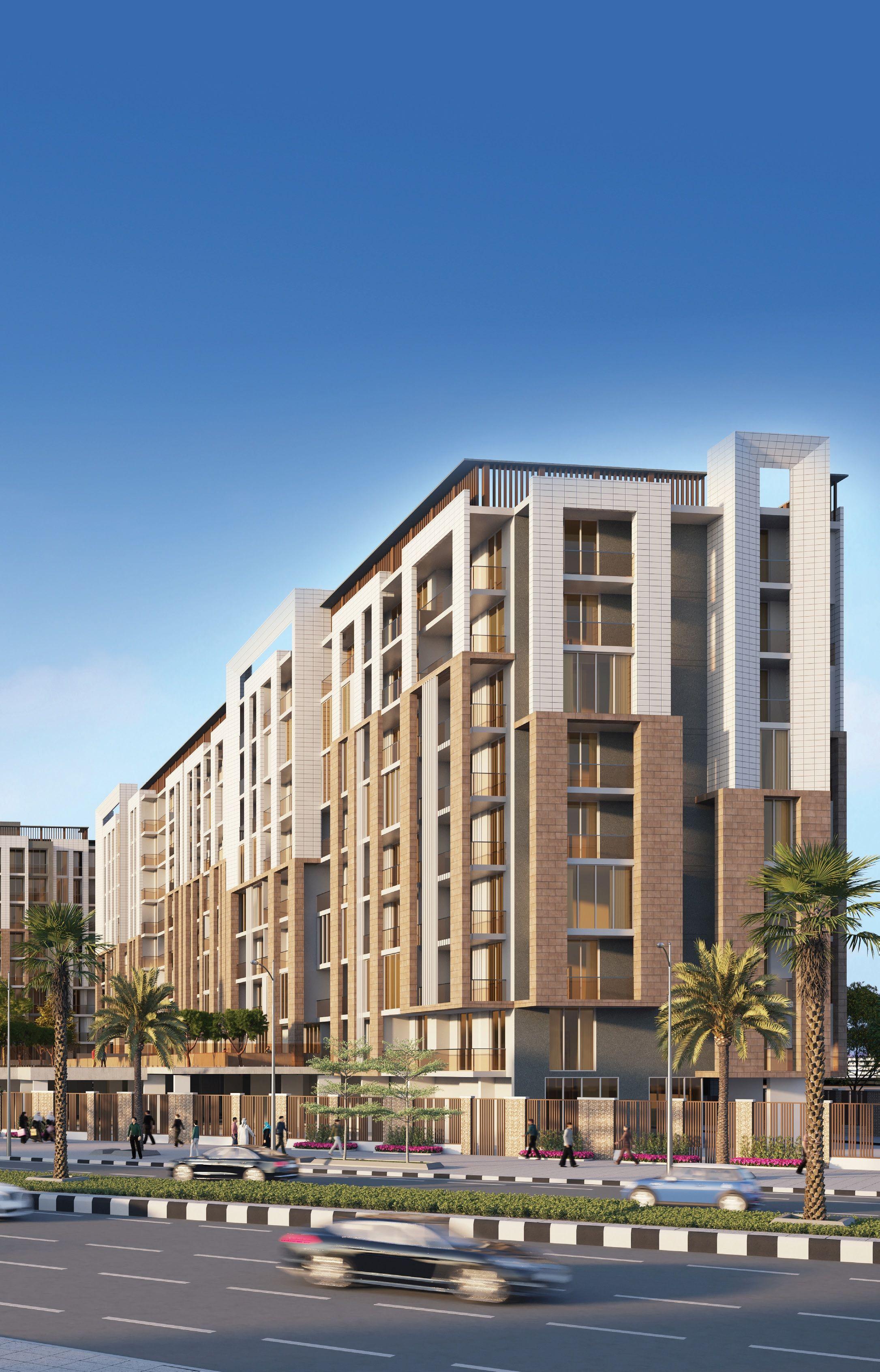 شقة غرفة وصالة للبيع مقابل المرابع العربية ب 489 ألف درهم