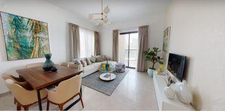 شقة غرفتين وصالة في جزيرة الشارقة