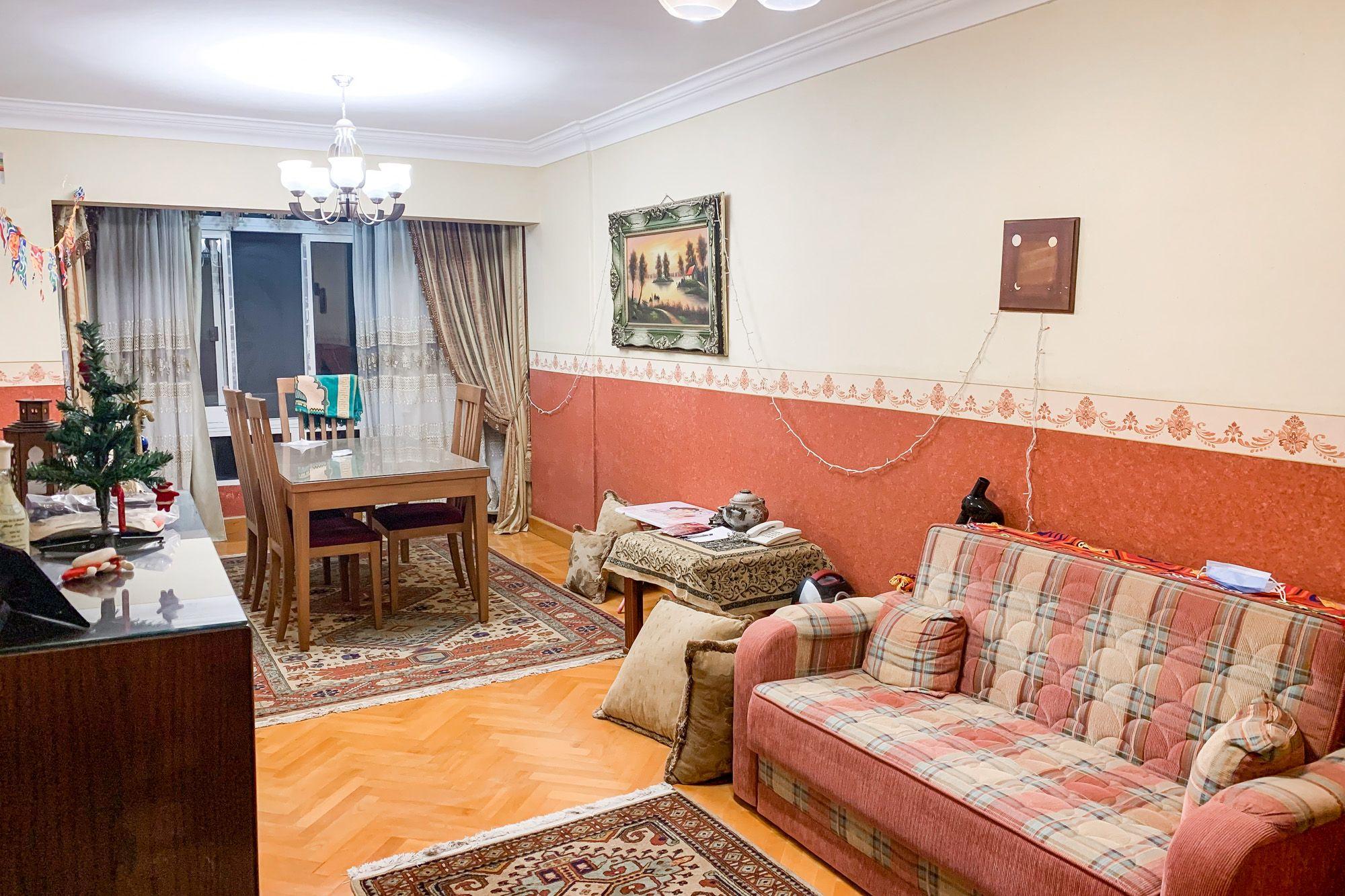 شقة للإيجار مفروش او بدون فرش 154 م سموحة