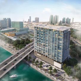 apartment with a water view for sale in Abu Dhabi