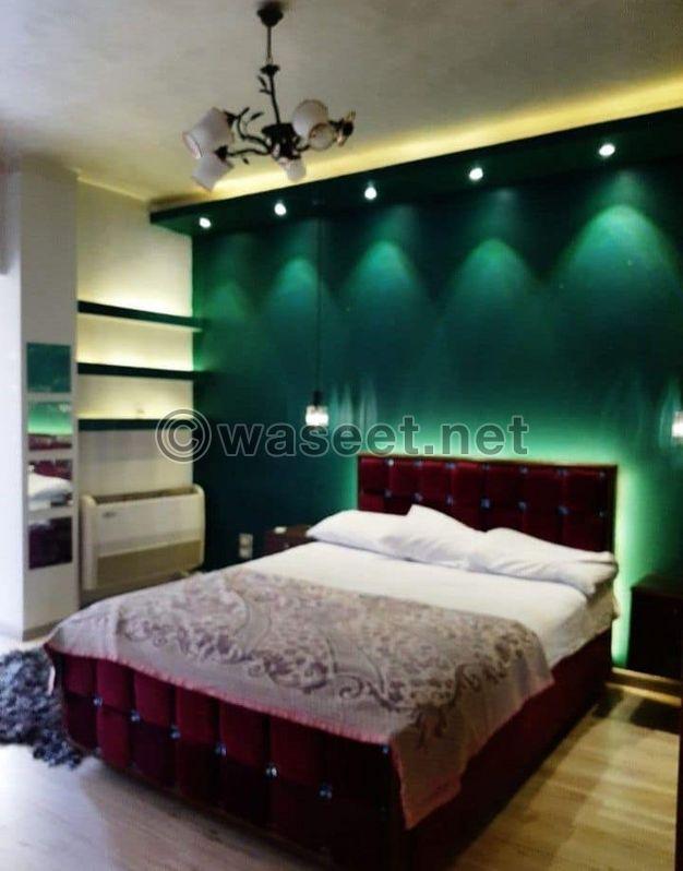 شقة مفروشة 200 م للايجار في مصر الجديدة