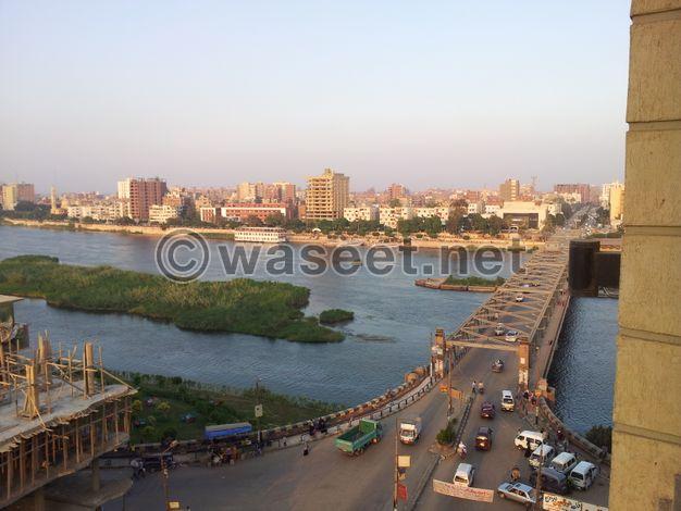 شقة 200 متر نصف تشطيب  علي النيل بنها- القليوبيه