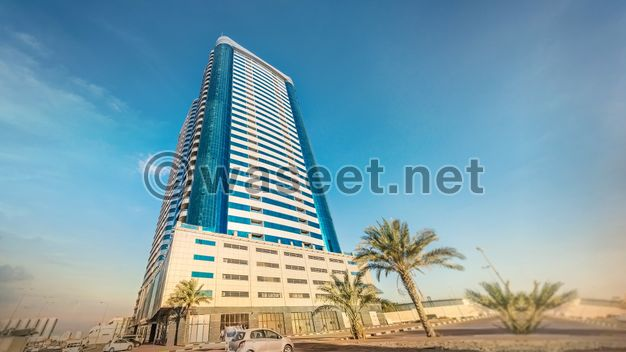 Apartments for sale in the most luxurious tower in Ajman