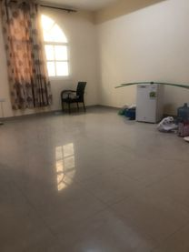 Apartment 1 bedroom and lounge for rent in khalifa city (A)