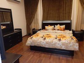 شقه 2غرفه نوم  مفروشه كامل للايجار في الحد قريبه من اسواق اللولو