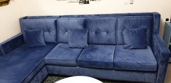 Corner sofa large size like new size 180 by 300 cm 4