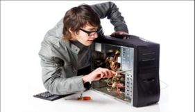 Maintenance, installation and equipping of printers and computers