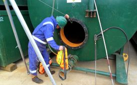 General maintenance and cleaning of tanks 3