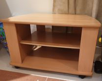 TV table in very good condition durable wood light use 100 AED