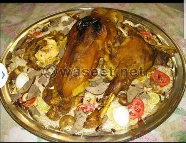 طباخ مصري يجيد الاكلات الخليجية