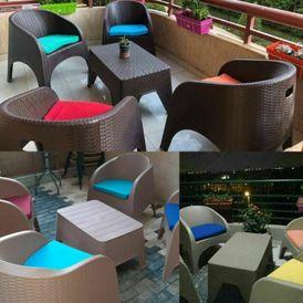 طقم الحدائق ٤كرسي
