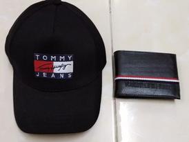 Cap and wallet set