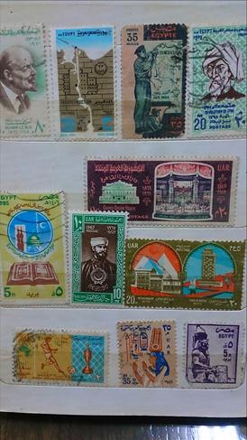 طوابع بريد عربية واجنبية نادرة