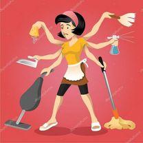 عاملة نظافة وابحث عن عمل نظافة