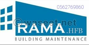 Rama BHF Company announces its offer to all owners of villas Maintenance of the villa