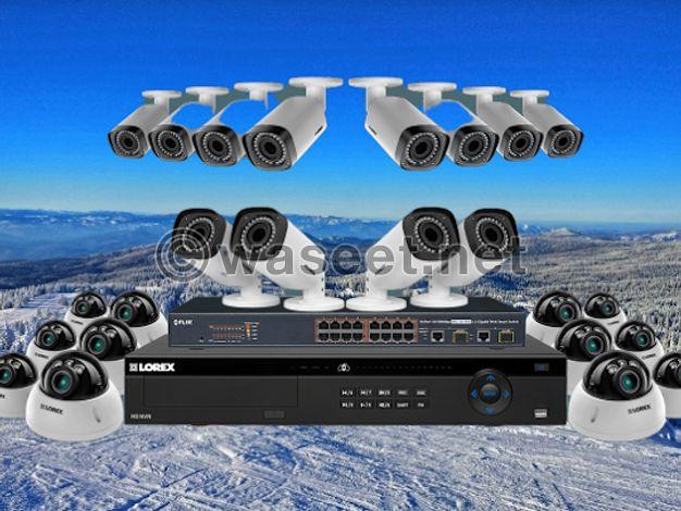 عرض كاميرات مراقبة للبيع  من شركة فيجن
