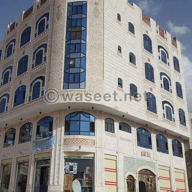 عمارة للبيع في صنعاء شارع النصر تجاريه