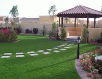 عمل الشلالات المنزلية وتنسيق الحدائق