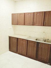 غرفه وصاله طابق أول للإيجار في مدينة محمد بن زايد حوض 22