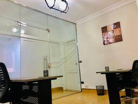 غرف مكتبية للشركات مفروشة ومجهزة بأرقي المواقع