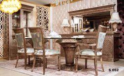 غرف نوم وجلوس وطعام تركي مودرن و كلاسيكي