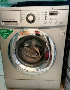 LG washing machine 8 kg