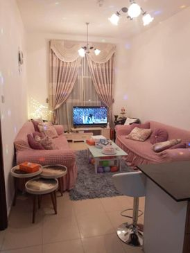 Owns and owns a two-room apartment in Ajman