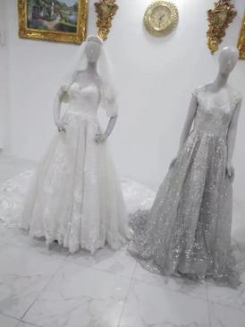 فساتين زفاف استعمال بسيط