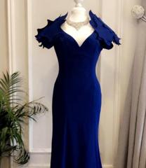 فستان ازرق مستعمل
