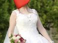 فستان زفاف للبيع مع الطرحة 1