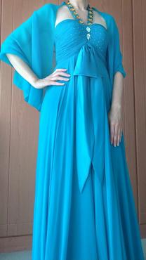 فستان سهرة طويل للبيع