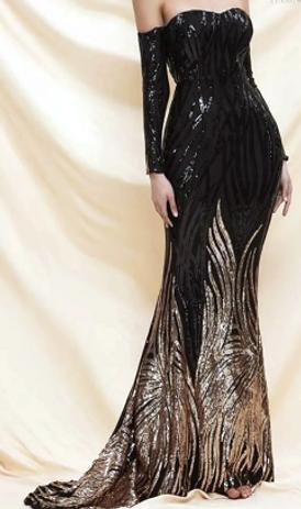 فستان مستعمل للبيع