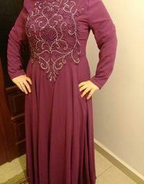 فستان سهرة شبه جديد للبيع