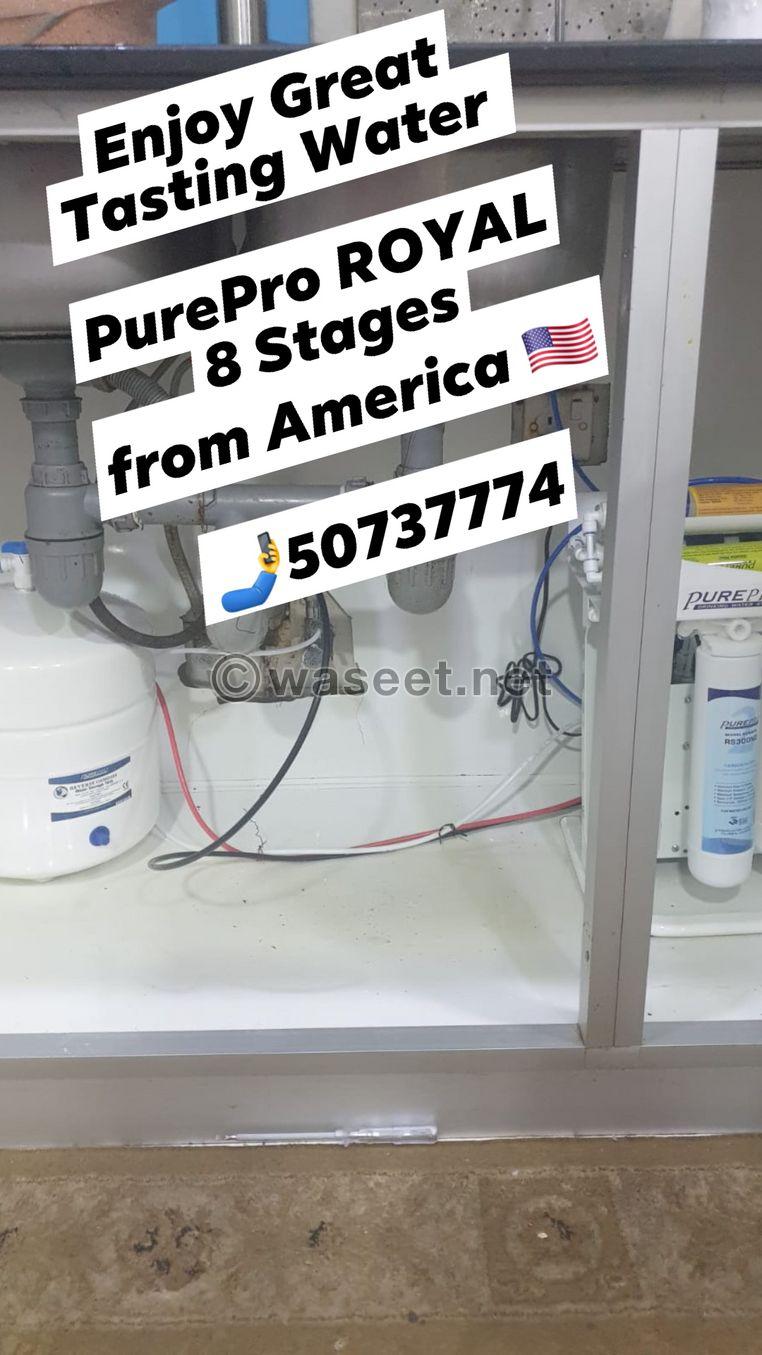 فلتر المطبخ 8 مراحل امريكي الصنع جودة عالية 3
