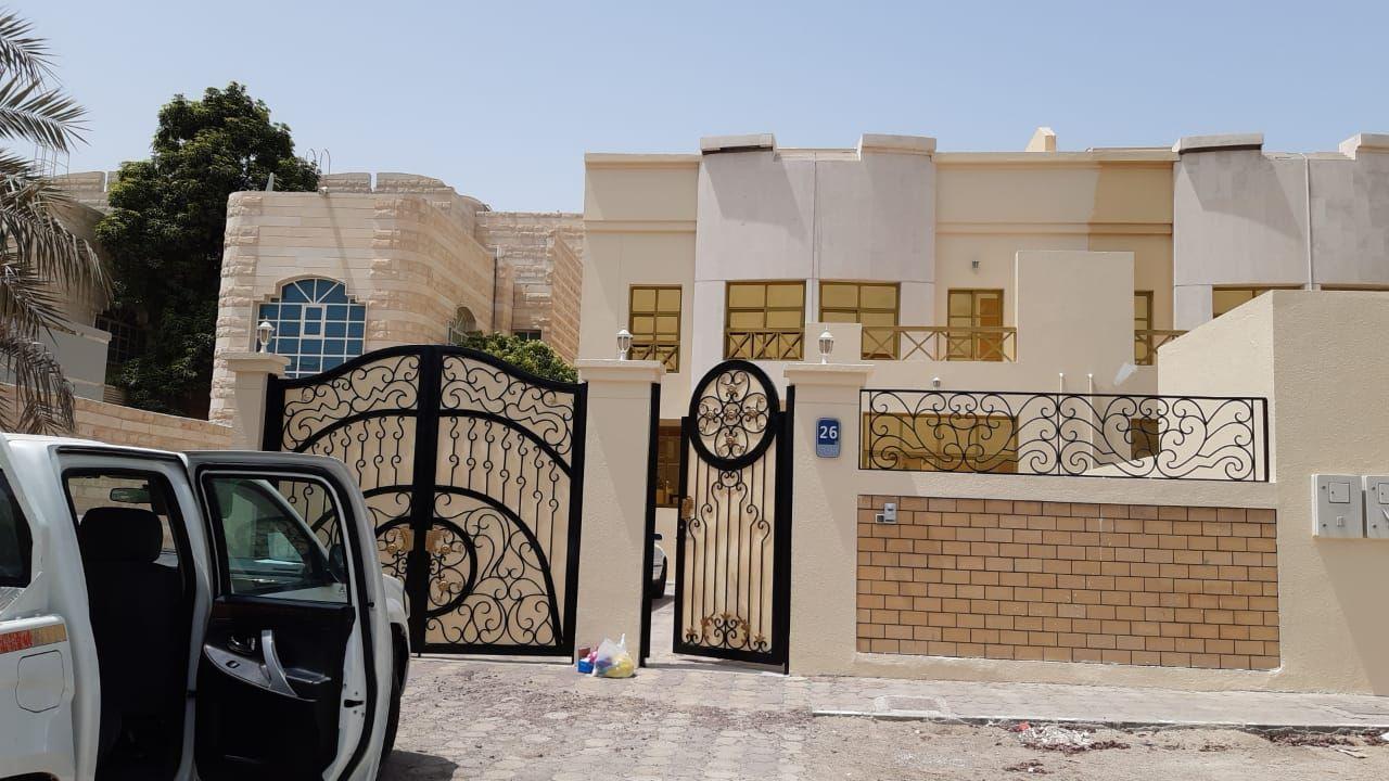 فلل للايجار في أبوظبي المشرف