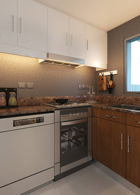 Two bedroom villa in Dubai before Global Village,
